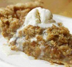 Cinnamon Crumble Apple Pie ~ Recipe of today