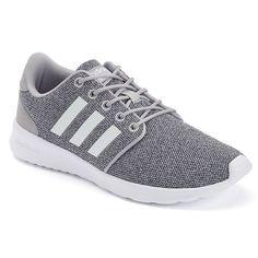 best authentic d5fd5 810c6 Adidas Cloudfoam QT Racer Women s Shoes, Size  8, Silver