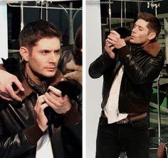 Jensen Ackles as Dean Winchester Jensen Ackles, Jared And Jensen, Jared Padalecki, Supernatural Destiel, Castiel, Tv, Dean Winchester, Superwholock, Beautiful Men