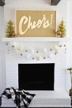 Cheers! Light Box Marquee DIY | A Beautiful Mess | Bloglovin'
