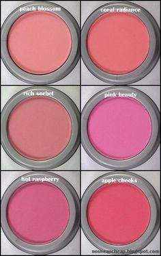 Review: Jordana Powder Blushes (NEW SHADES) - I really like that these are MATTE blushes