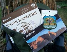 {Junior Ranger Programs for science-based badges in the National Parks} -- find hands-on places where the kids can learn about astronomy, marine science, volcanoes, geology & more!