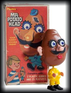 1960's Mr Potato Head