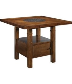 The table!!!!  If anything this is the only thing I want!!!!!  It has a granite lazy susan!!!  and it opens up to seat 8 in a round table!