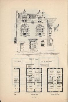 Artistic City Houses by Herbert C. Chivers, Architect: Page 4 (of 32)