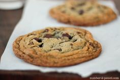 A recipe for just two chocolate chip cookies.  Genius.