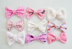 Precious pink bows