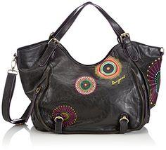 5c8444ff427 Desigual Women Bols Rotterdam Audrey Shoulder Bags 46X51916034U Brown  (6034). Street WearShoppingPursesTote BagBohoCollectionShoesAccessoriesWomens  Fashion