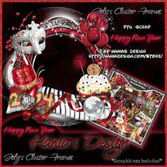Happy New Year-cluster-04 [HaniaDesign] - $0.50 : Hanias Design