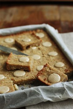 Macadamia Tray Cookie Slices