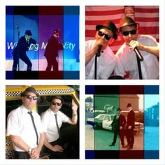 Birmingham Blues Brothers tribute act from the UK as seen across Europe - especially in Corfu. Ask for booking details.