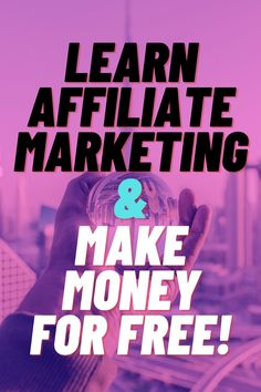 Want to earn free money through Affiliate Marketing?Here's how you can learn affiliate marketing and make money for free in your sleep! Marketing Words, Marketing Program, Business Marketing, Affiliate Marketing, Online Marketing, Online Business, Earn Free Money, Ways To Earn Money, Make Money Online