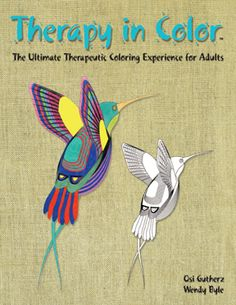 Therapy in Color™ is a gigantic coloring book specifically designed for adults to help release tension and heal your soul through the art of coloring. Each page includes an inspirational quote which will surely uplift your spirit. To purchase the book, please visit our website and click on the link to Amazon. Makes a great gift for any occasion. www.TherapyInColor.com
