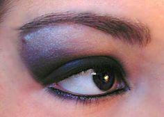 #Black #makeup #trucco