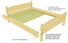 23 Best Diy Beds Images In 2013 Diy Bed Diy Furniture