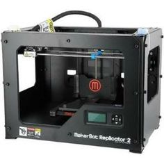 "MakerBot 3D printer.  Makerbot Replicator 2 Desktop 3d Printer - 6.02"" X 6.10"" X 11.22"" Build Size - Fused Filament Fabrication - Single Jet - 0.4 Mil Layer - 68.9 Mil Filament - Plastic Supported MP04948"