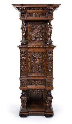 Outstanding Historicist pier cabinet,