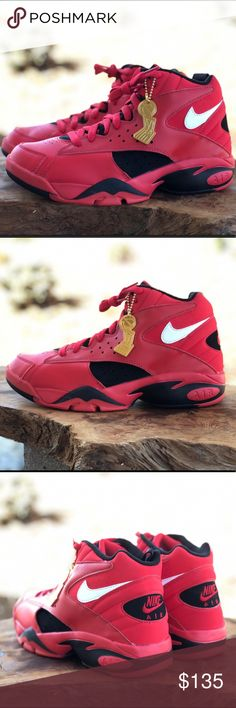 6a41fcab75cc Nike Air Maestro 2 II QS University Red Black Nike Air Maestro 2 II QS  Men s University Red Trifecta Black Sz 7 Brand new without box Nike Shoes  Sneakers