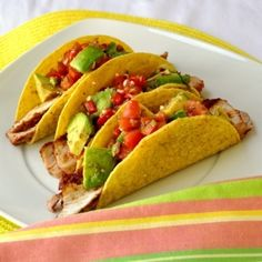 spicy bbq porkchop tacos by lou anne
