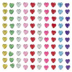 Compra nuestros productos a precios mini Strass para pegar corazones multicolores 0,5 x x 100 - Entrega rápida, gratuita a partir de 89 € !