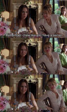 chew like you have a secret! @Sarah Webb