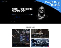 Podcast Website Template for Episodes Site Free Trial / Free Tech Support / Tons of Tools and Widgets For Website Management Inventory Management, Tech Support, Website Template, Web Design, Coding, Templates, Tools, Free, Design Web