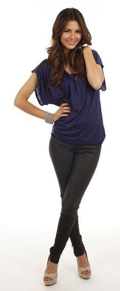 Looks De Victoria Justice : Découvrez Son Cv Fashion !