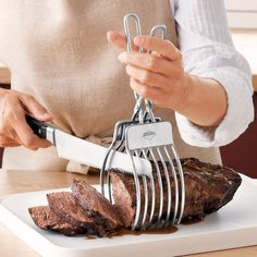 Roast Cutting Tongs: Kitchen & Dining: Amazon.com - for dad