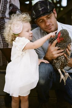 farm family session + chickens