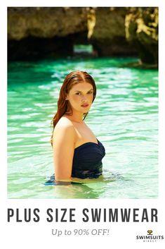 93d522f9e38 Anne Cole Plus Size Swimwear - Plus Size Tankini   Bandeau Swimsuits