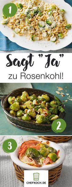 8 super Rezepte mit Rosenkohl