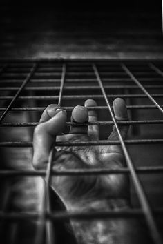 """Beth,"" he whispers quietly. His shaking fingers barely reach through the bars ~ #story #inspiration #scene"
