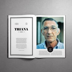 MagSpreads - Magazine Design and Editorial Inspiration: Interview - Santos Henarejos