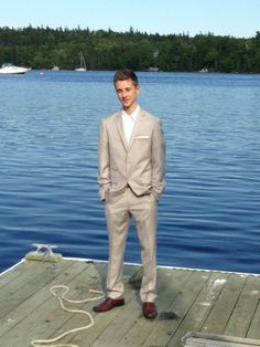 Casual suit for teen semi formal function