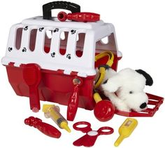 Battat Dalmation Vet Kit... This is exactly what I got when I was four years old for Christmas!