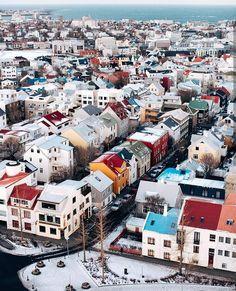 A thousand houses ~ Reykjavík, Iceland