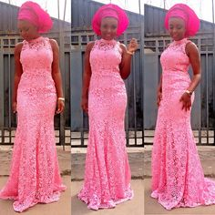 African Lace Fabric Pink Beads Tulle Lace Fabric High Quality Flower Fabric Stones Lace Appliques For Wedding Dresses African Print Dresses, African Dresses For Women, African Women, African Prints, African Outfits, Pink Tulle, Tulle Lace, Lace Fabric, Lace Gowns