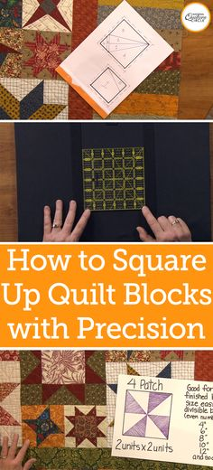 When piecing a block, even if you have been careful when sewing your seams, you may find that the block is slightly off square when you finish it. This can be especially true when you create unique quilt blocks that may be more complicated and have more pieces. ZJ Humbach teaches you how squaring up a quilt block can ensure a nice, square finished project.