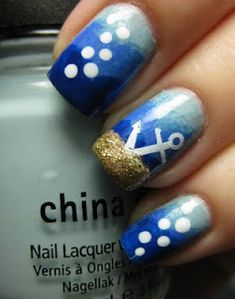 Hmmm...debating doing my pedi with this for the Red, White and Blue wedding I'm in this weeekend...
