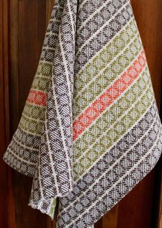 Handwoven Dishtowel Dish Chef Hand Woven Kitchen Towel Cotton