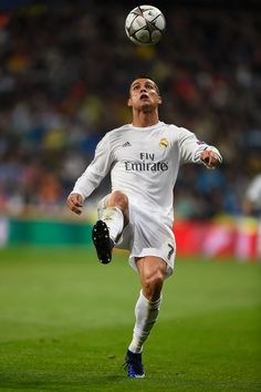 Cristiano Ronaldo of Real Madrid in action during the UEFA Champions League quarter final second leg match between Real Madrid CF and VfL Wolfsburg at Estadio Santiago Bernabeu on April 12, 2016 in Madrid, Spain. (April 11, 2016 - Source: Mike Hewitt/Getty Images Europe)