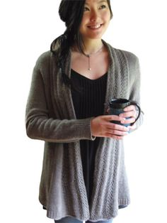 Old Town Cardigan Knit Pattern
