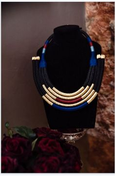 Bespoke range neckpieces designed by Katherine-Mary Pichulik, and handcrafted in Cape Town using locally manufactured ropes and interesting found materials. Bold Jewelry, Archive, Mary, Sculpture, Bracelets, Winter, Shop, Stuff To Buy, Inspiration