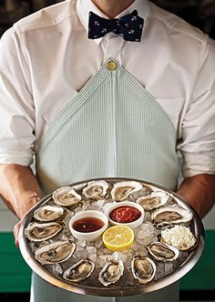 Oysters at Clark's (pictured), Lamberts (BBQ), Perla's (seafood), Elizabeth Street Cafe (Vietnamese), Fresa's (chicken), Jeffrey's (American upscale)
