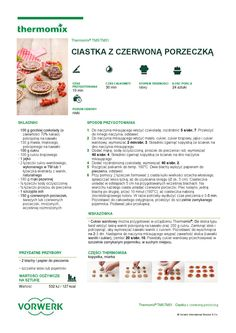 thermomix - Ciastka z czerwona porzeczka My Favorite Food, Favorite Recipes, My Favorite Things, Cannoli, Truffles, Make It Simple, Cookies, How To Make, Inspiration