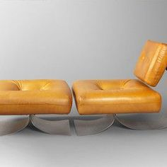 Oscar Niemeyer - Lounge chair #futuristicfurniture
