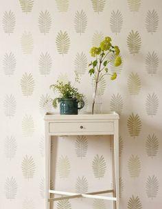 Jane Churchill's Ferndown Wallpaper #interiors #janechurchill #textiles #wallpaper