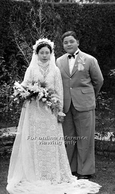 Wedding in Penang, Malaysia - 1940s to 1950s