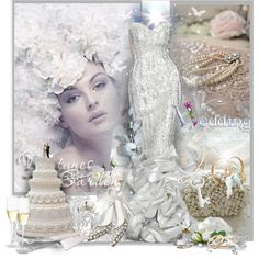 """""""A Wedding Tale"""" by gaburrus on Polyvore"""