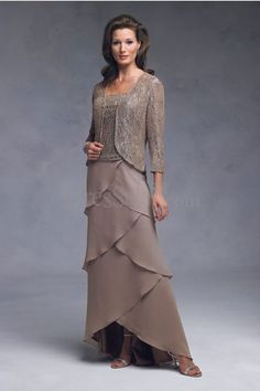 Love this mother of the bride dress.